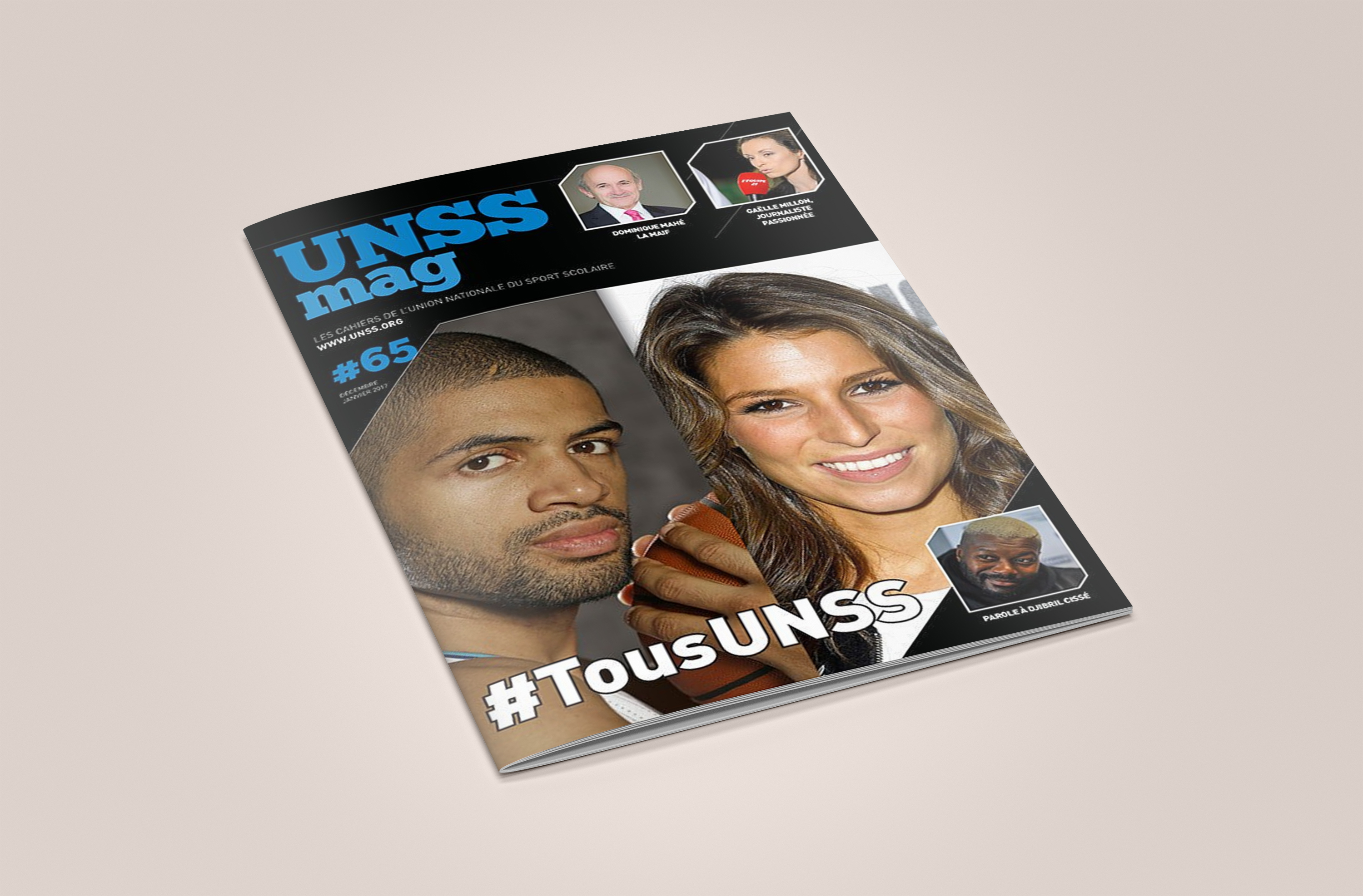 Couverture UNSS Mag