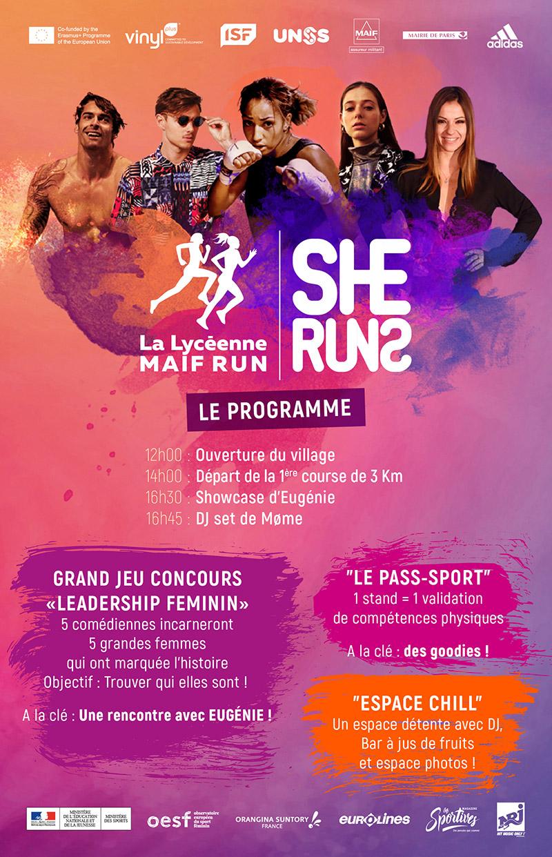 La Lyceenne MAIF Run – UNSS – Bordeaux